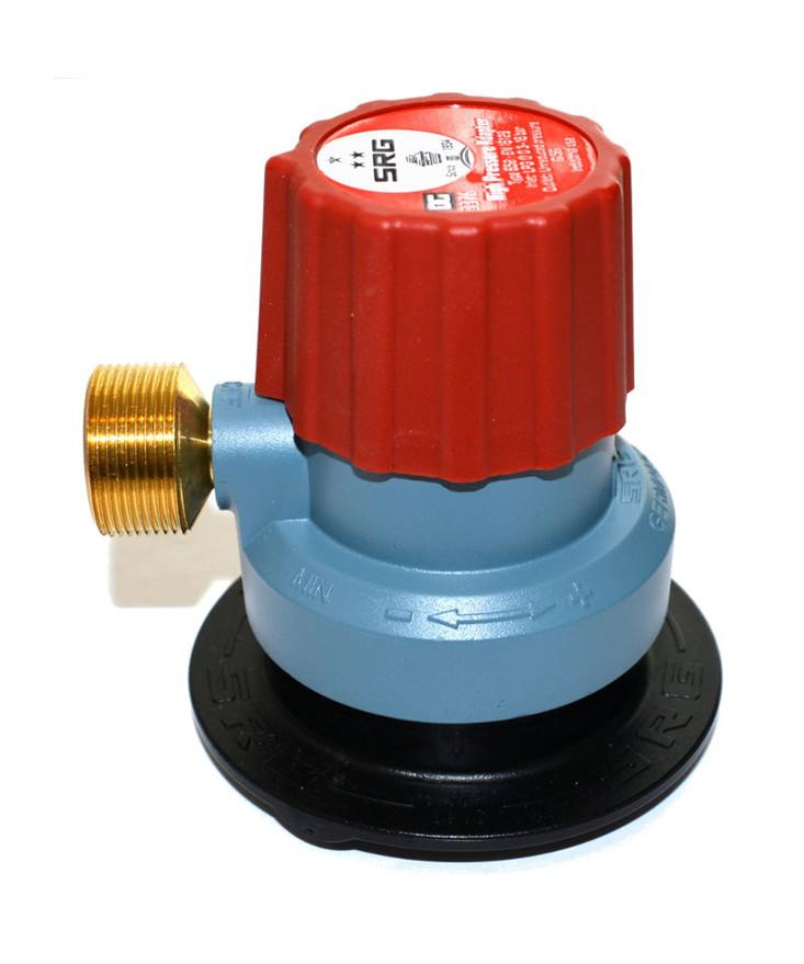 Kobling til gasflasker m/ click-on ventil