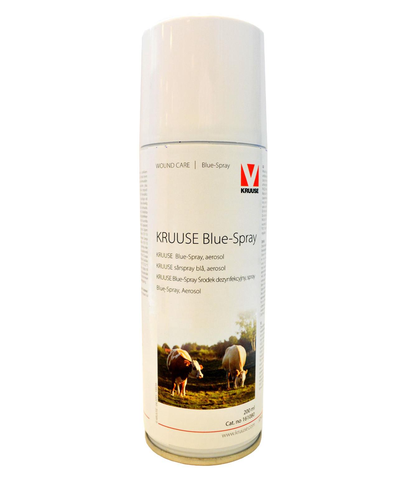 Blue-Spray desinficerende sårspray 200 ml