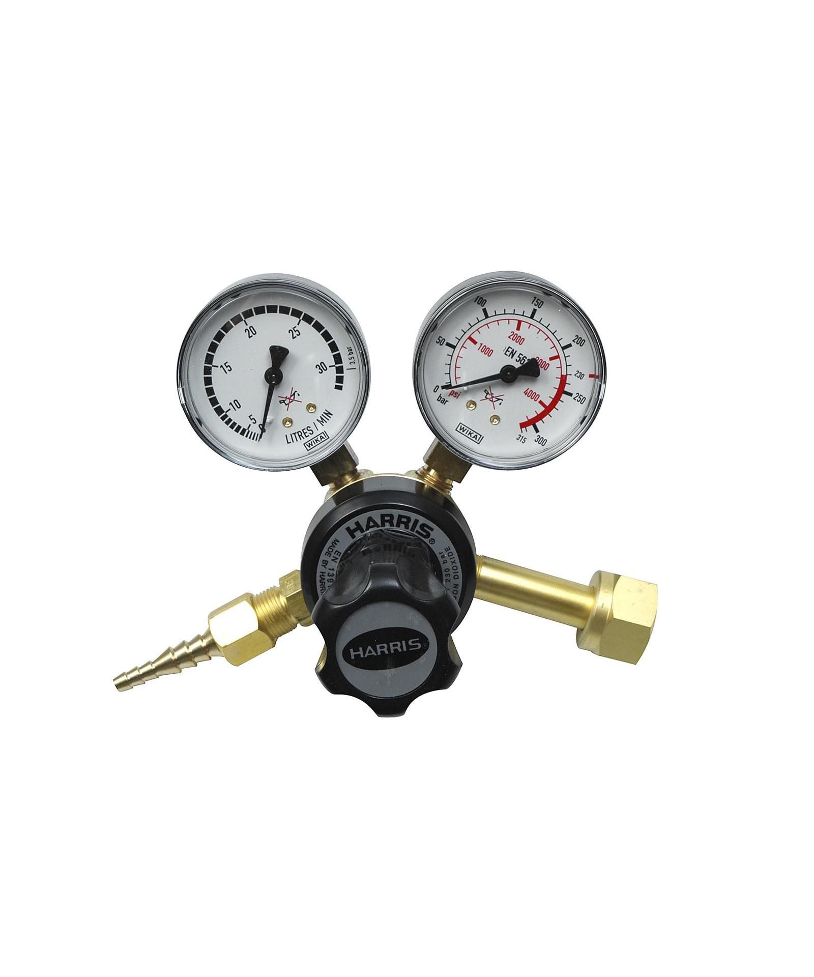 Harris 801 reduktionsventil - CO2