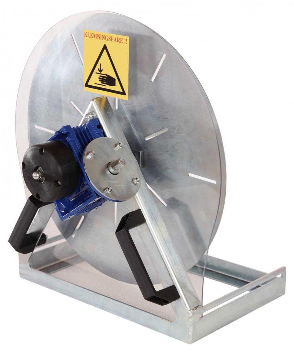 Båndopruller til boremaskine