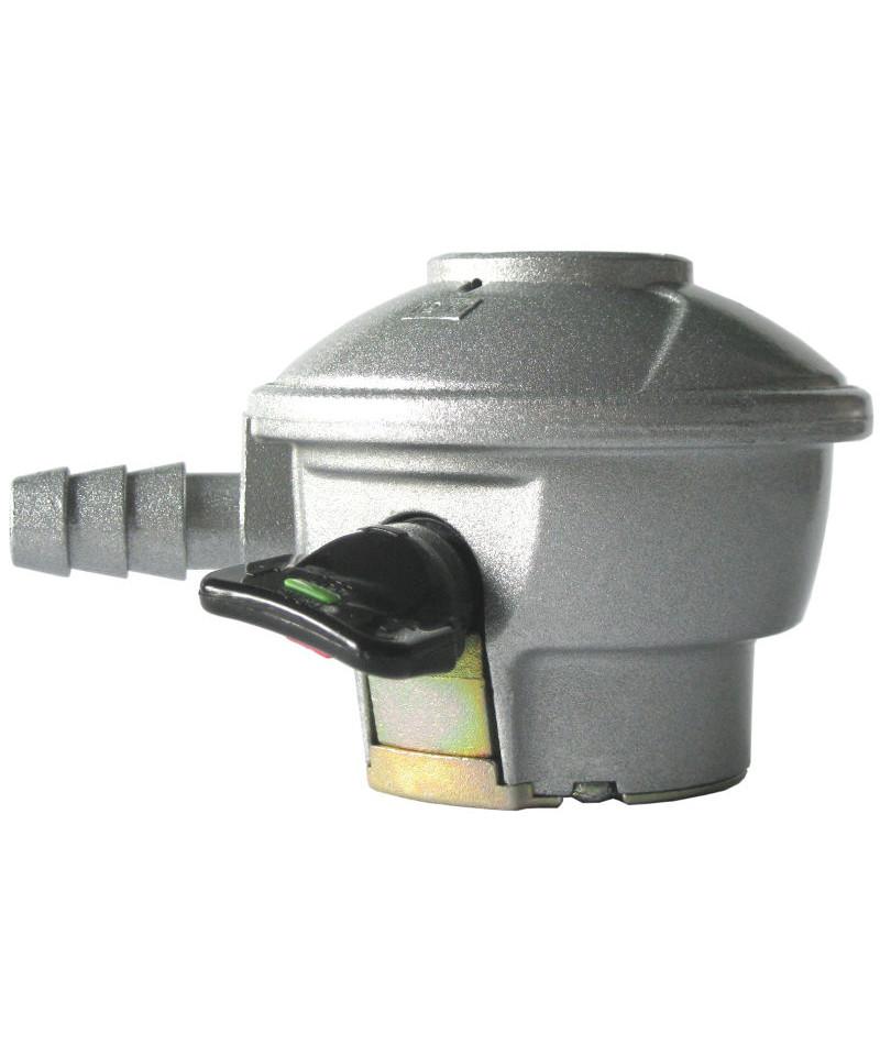 compact quick on gasregulator til 6 kg alu flaske. Black Bedroom Furniture Sets. Home Design Ideas