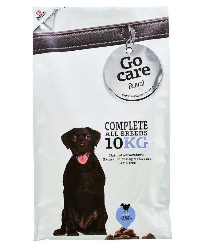 Go Care Royal Complete kornfri hundefoder 10 kg