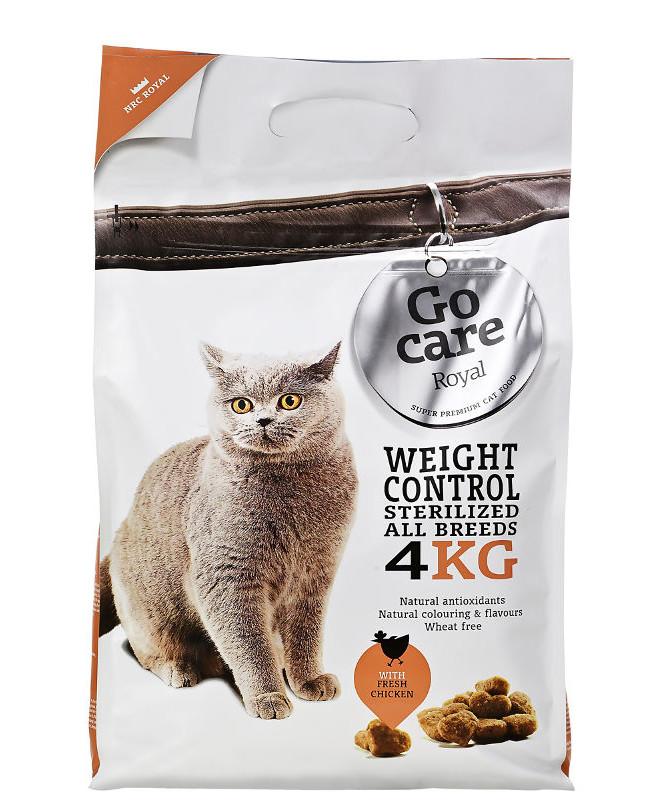 Go Care Royale Weight Control kattefoder 4 kg
