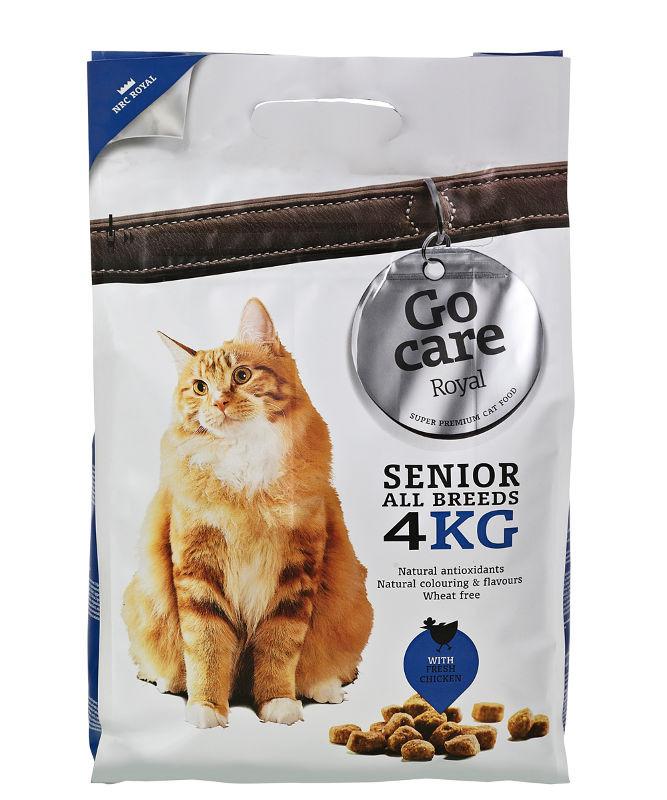Go Care Royale Senior All Breeds kattefoder 4 kg