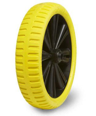 Starco Flex lite punkterfri hjul 4.00-6