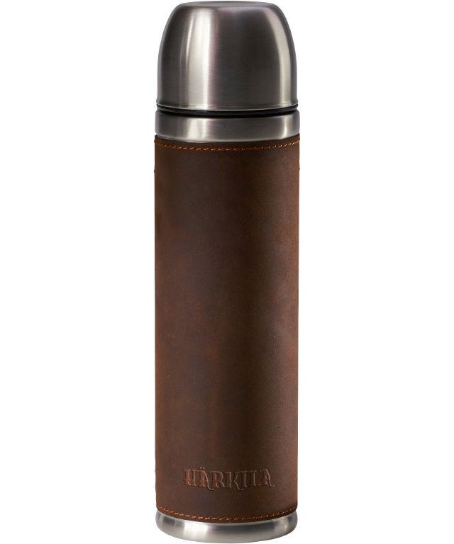 Härkila termoflaske rustfrit stål m/ ægte læder 750 ml