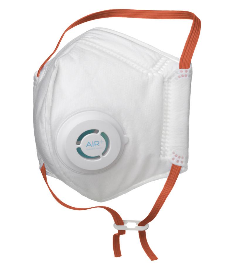 AIR+ Smart Mask P2 støvmaske m/ ventil - 10 stk.