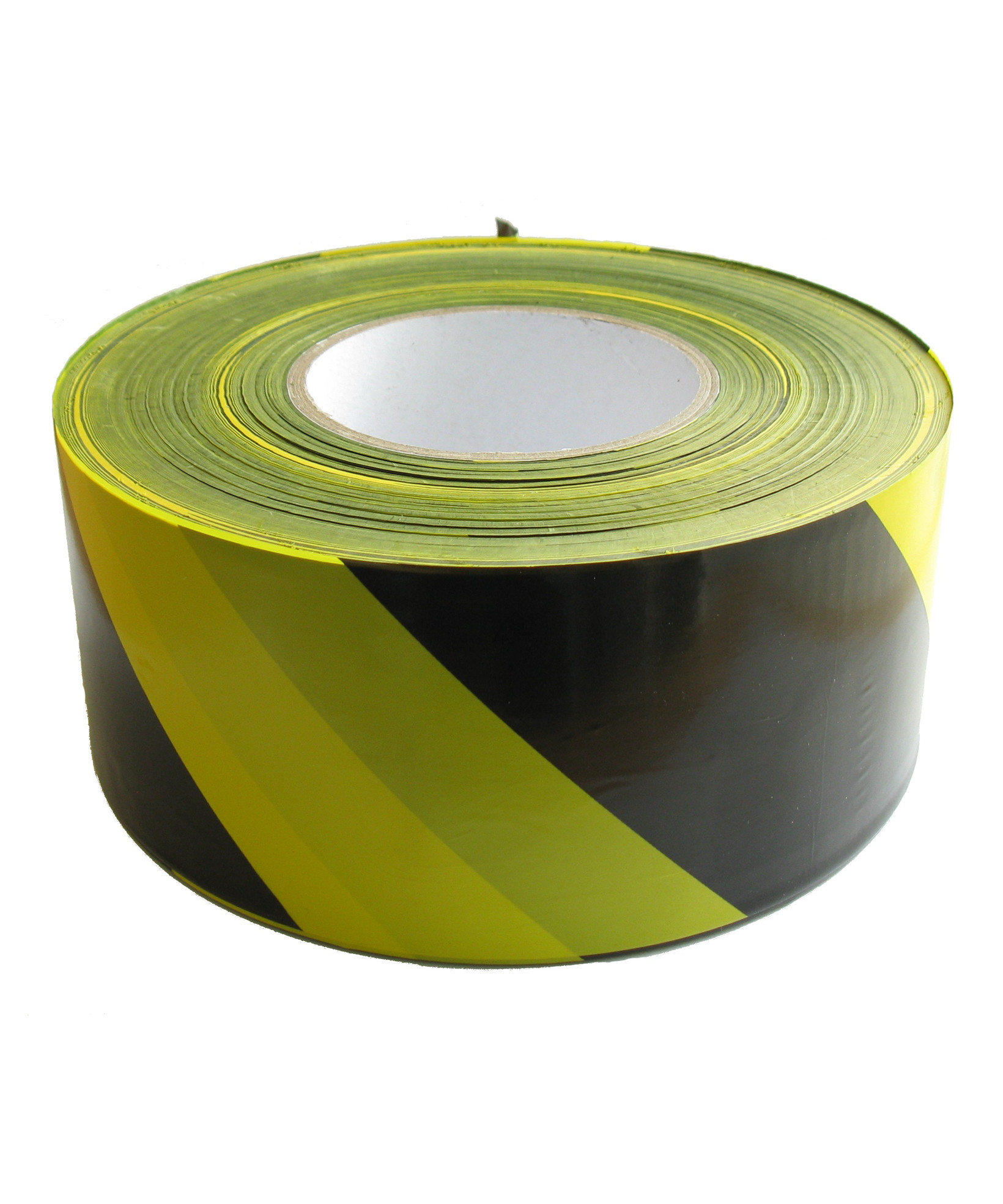Afspærringsbånd gul/sort 500 m
