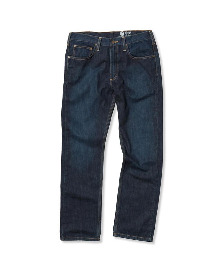 Carhartt Straight Fit Straight Leg Jeans