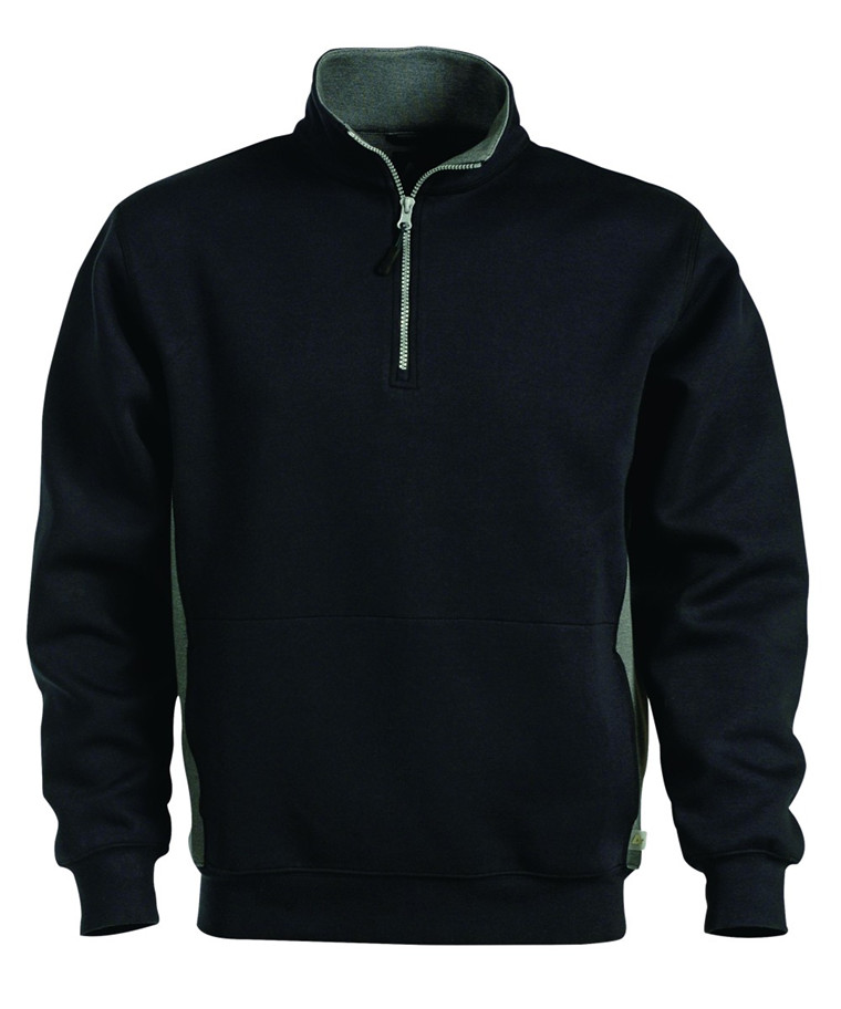 A-Code Sweatshirt med lynlås