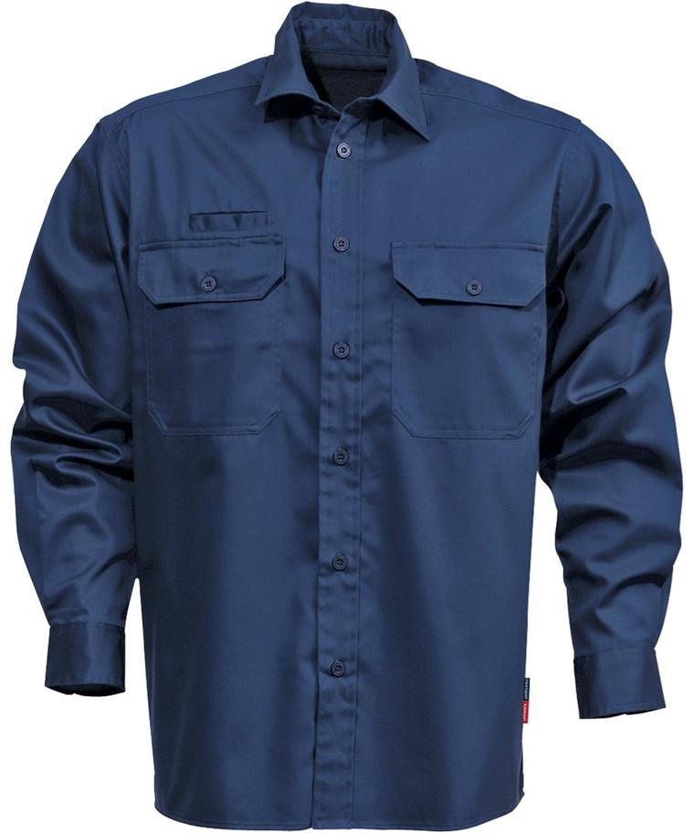 Kansas Legacy skjorte bomuld m/ lange ærmer