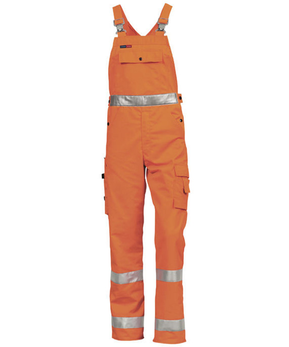 Kansas HI-VIS ensfarvet overalls
