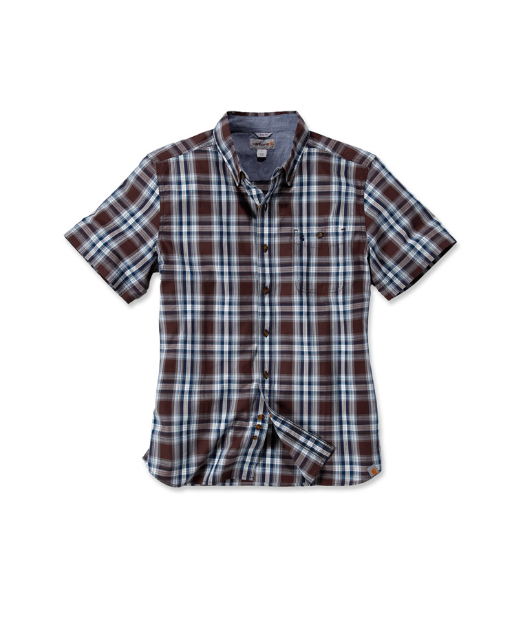 Carhartt Onslow Plaid Short Sleeve Woven Shirt