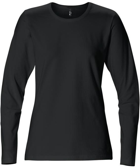 Kansas t-shirt m/lange ærmer - dame