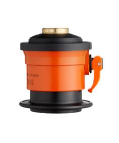 Kobling m/ BP afgang til flasker med click-on ventil