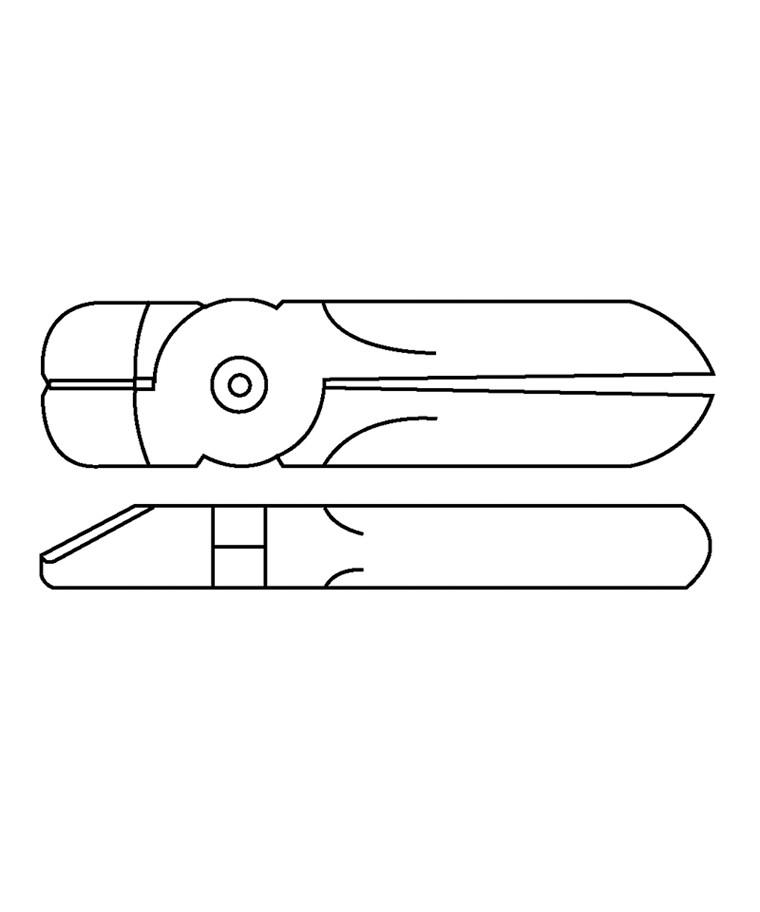 Skær P8P til trykluftklipper MR30A