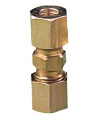Samleunion til 6 mm kobberrør lavtryk