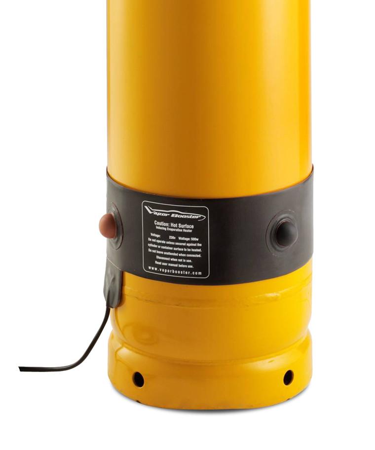 Varmebælte til gasflaske