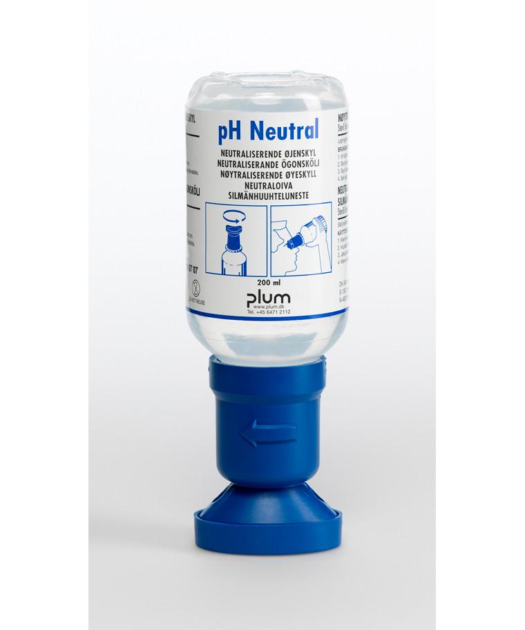 Plum øjenskyllevæske, neutraliserende, pH neutral