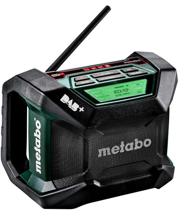 Metabo R 12-18 BT DAB+ håndværkerradio
