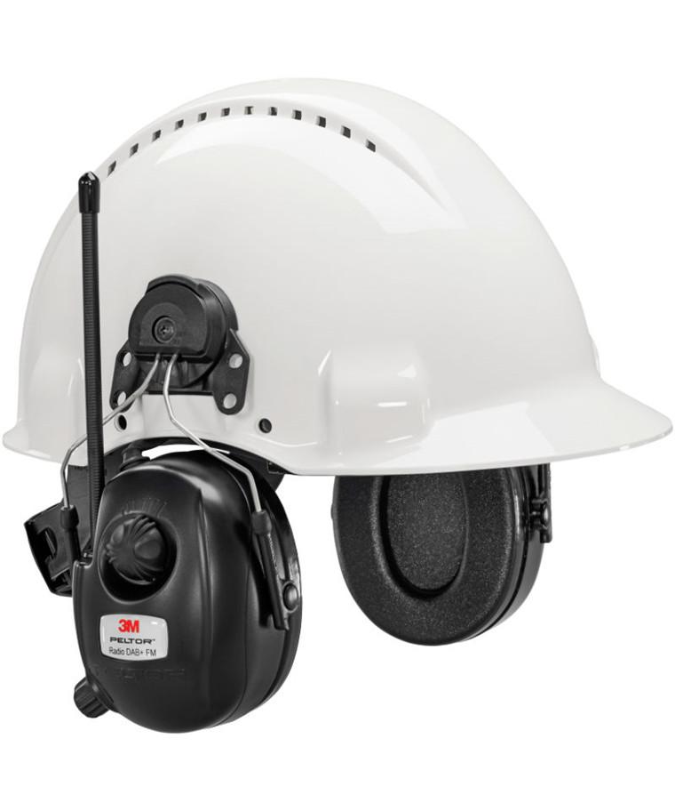 3M Peltor DAB+ / FM høreværn til hjelm