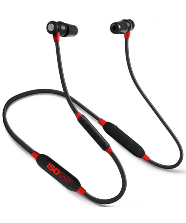 ISOtunes XTRA Red/Black høretelefoner EN352