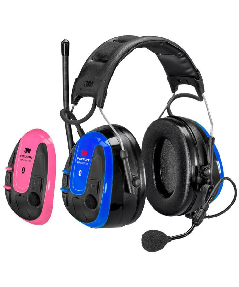 3M Peltor WS Alert XPI høreværn m/ Bluetooth Multipoint + mobile app
