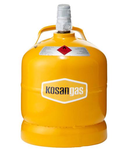 Kosangas 2 kg stålflaske - UDEN GAS