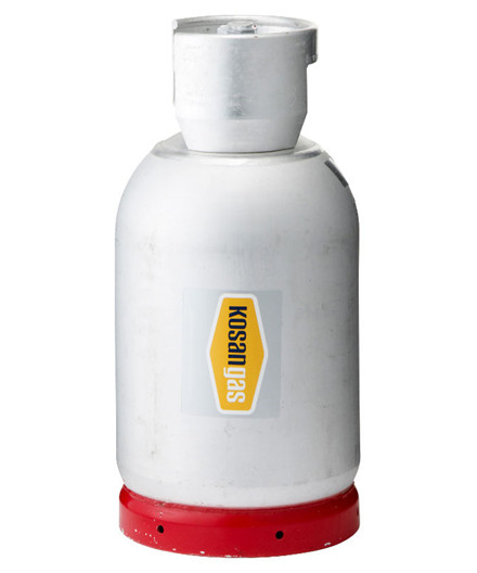 Kosangas 11 kg alu truckflaske - UDEN GAS
