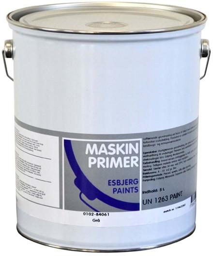 Esbjerg Paints 0100 maskinprimer - oxydrød 5 liter