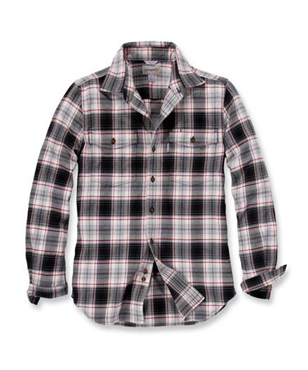 Carhartt Trumbull Slim Fit Flannel Skjorte