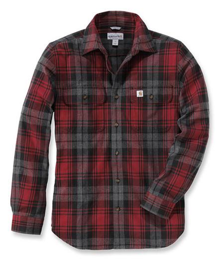 Carhartt Hubbard Slim Fit Flannel Skjorte