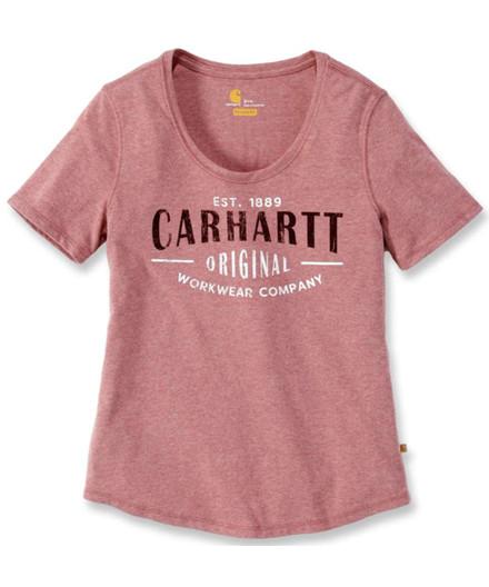 Carhartt Lockhart Script dame T-shirt