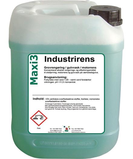 Maxi3 industrirens 20 liter