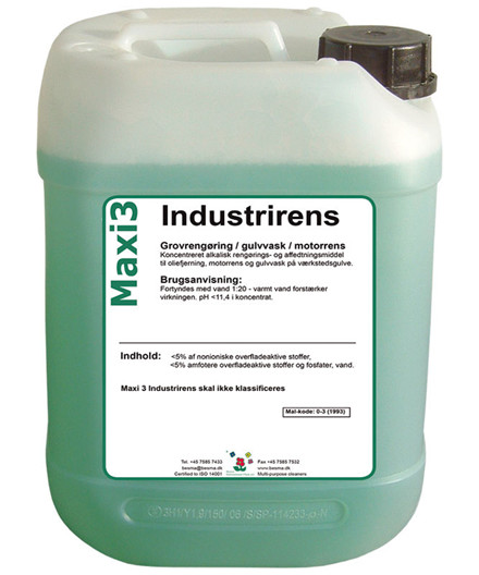 Maxi3 industrirens 5 liter