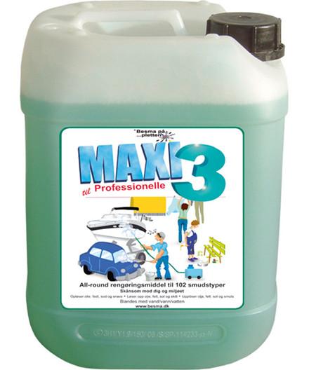 Maxi3 20L - all-round rengøringsmiddel