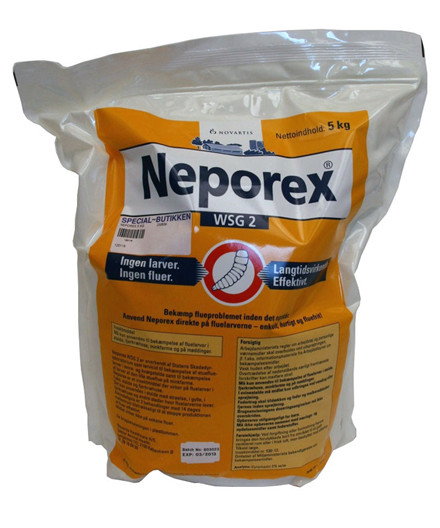 Neporex WSG 2 fluebekæmpelse 5 kg
