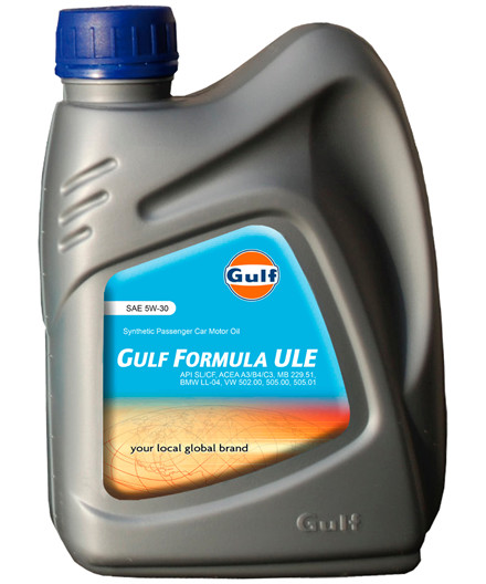 Gulf Formula ULE 5W/30 motorolie 1L
