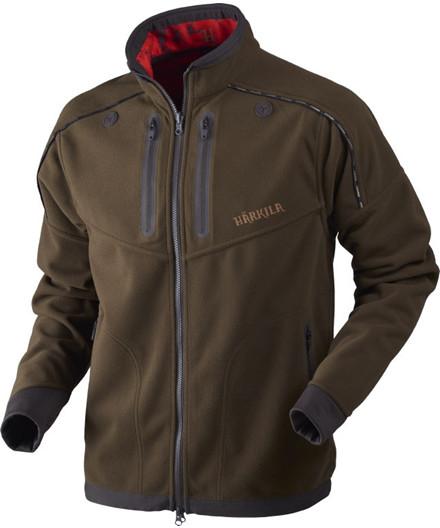 Härkila Lynx Reversible fleece jakke