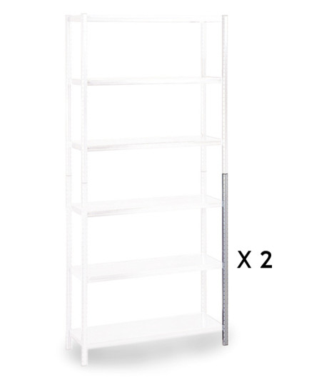 Raaco stolpesæt 2x1000 mm