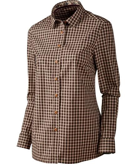 Härkila Selja Lady skjorte - Bright Port Check