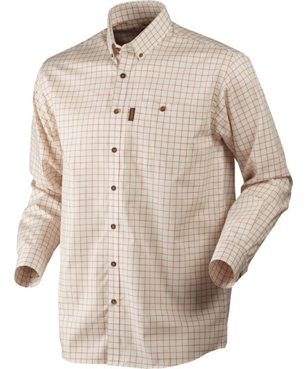 Härkila Stenstorp skjorte Burnt Orange Check