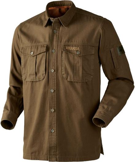 Härkila PH Range LS skjorte - Dark Olive