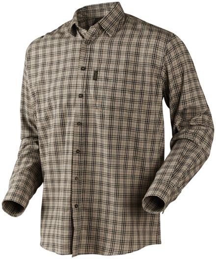 Seeland Burley L/S skjorte - brindle check