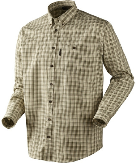 Seeland River L/S skjorte - frozen dew