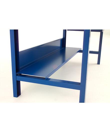 Blika hylde til 2,0 mtr. værkstedsbord