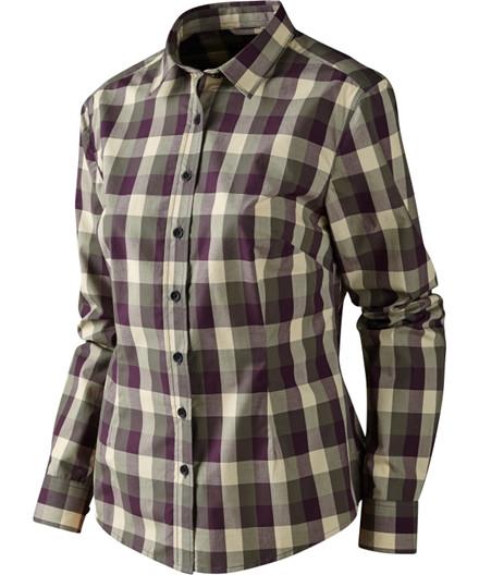 Härkila Lara Lady skjorte - Plum