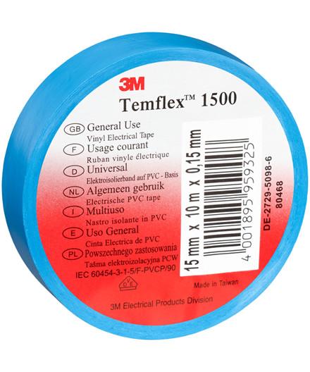3M Temflex 1500 isolerbånd – blå