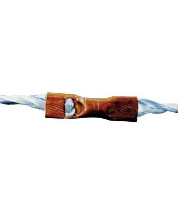 Forbinderrør til hestereb Ø4-6 mm - 10 stk.