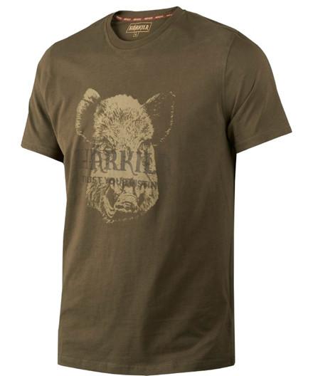 Härkila Odin Wild Boar T-shirt - Willow Green